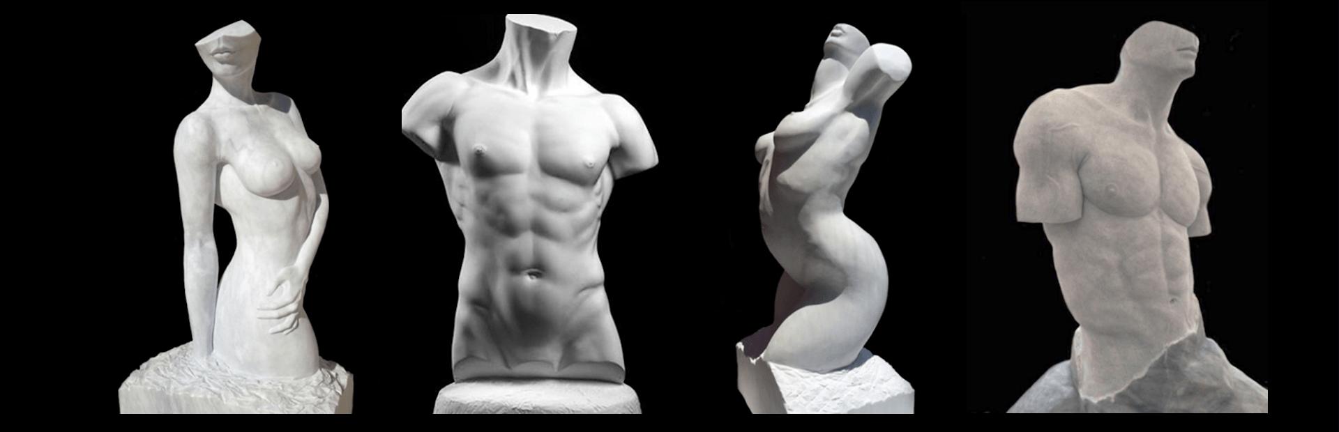 scultura muscolare esempi